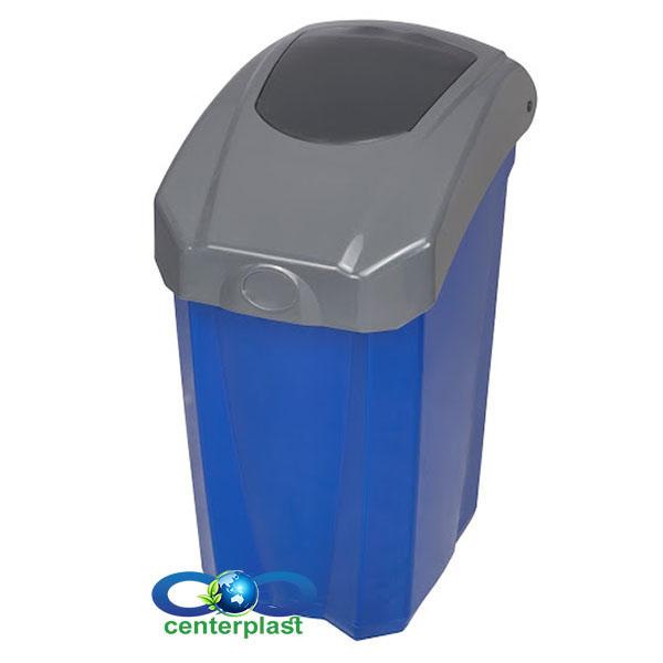 سطل زباله بادبزنی 65 لیتری