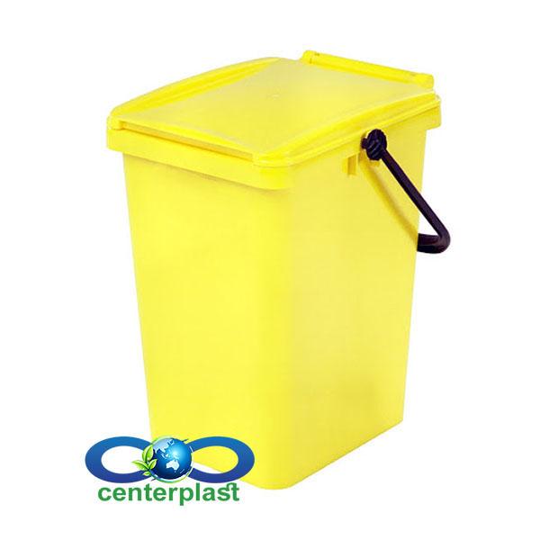 سطل زباله 10 لیتری پلاستیکی