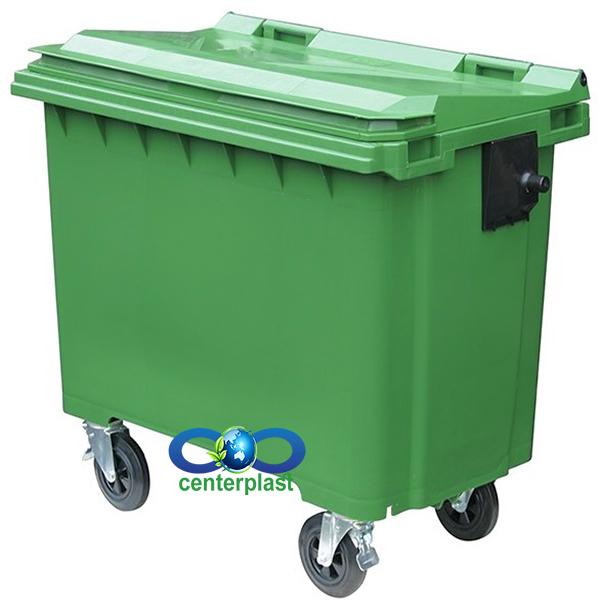سطل زباله 770 لیتری شهری