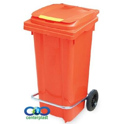 سطل زباله 100 لیتری چرخدار
