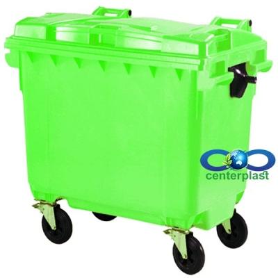 سطل زباله 660 لیتری مکانیزه