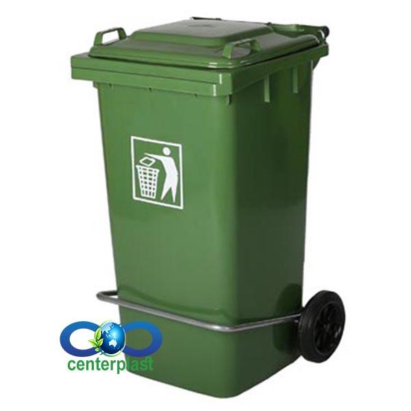 سطل زباله بیمارستانی پلاستیکی پلی اتیلن