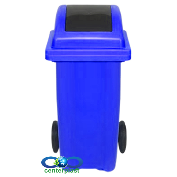 سطل زباله 100 لیتری دمپردار