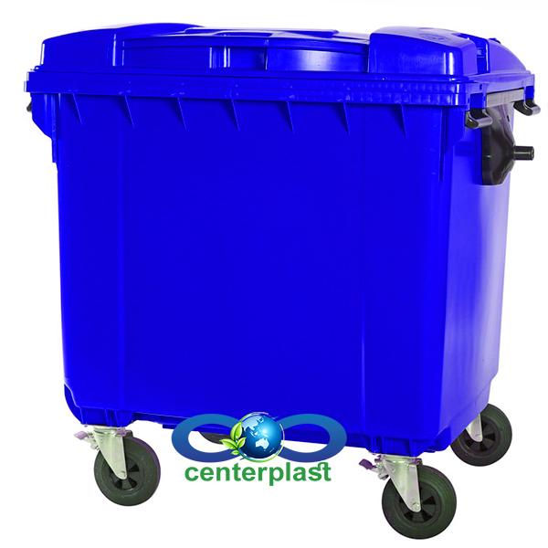 سطل زباله صنعتی چرخ دار