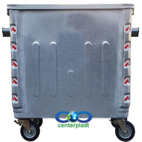 تولید کننده سطل زباله فلزی گالوانیزه