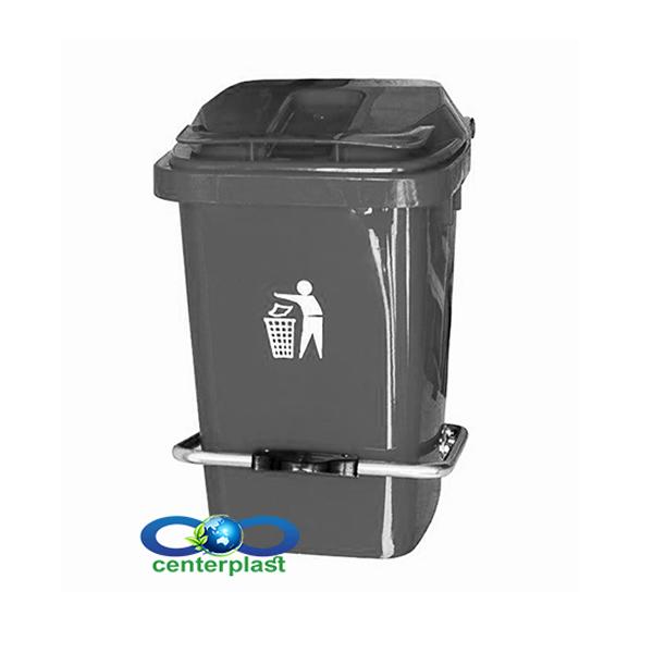 مخزن زباله 20 لیتری پدال دار