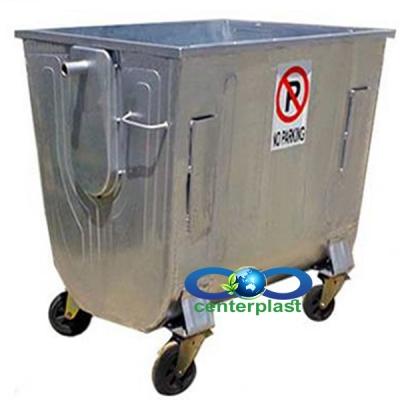فروش مخزن زباله گالوانیزه فلزی