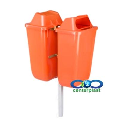 مخزن زباله پارکی پلاستیکی