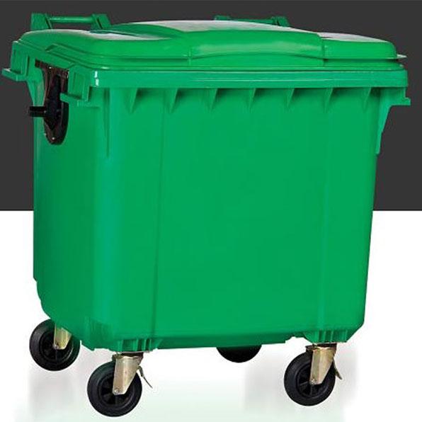 مخزن زباله 1100 لیتری