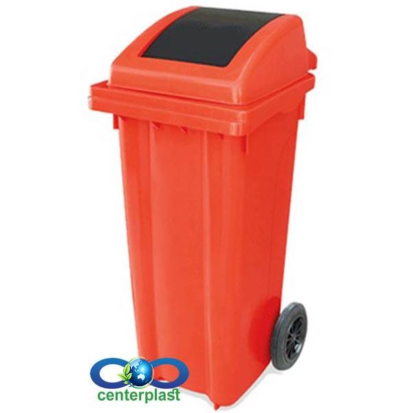 مخزن زباله 120 لیتری دمپری