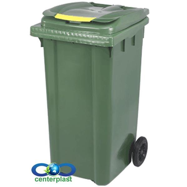 مخزن زباله 240 لیتری پلی اتیلن