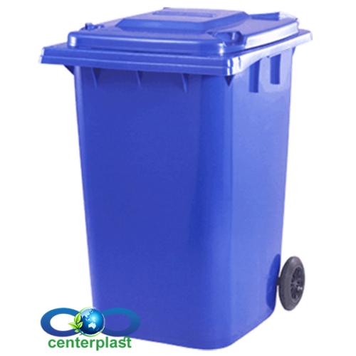 مخزن زباله 360 لیتری پلی اتیلن