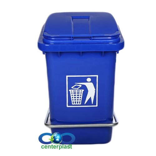 مخزن زباله 40 لیتری پدال دار