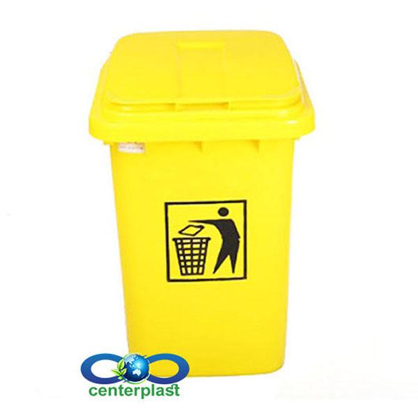 مخزن زباله 40 لیتری پلی اتیلن