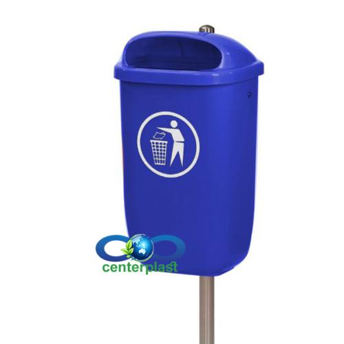 مخزن زباله 50 لیتری تک پایه