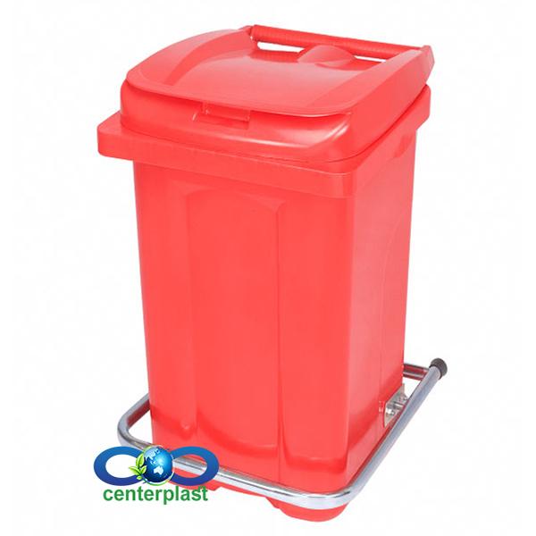 مخزن زباله 60 لیتری پدال دار