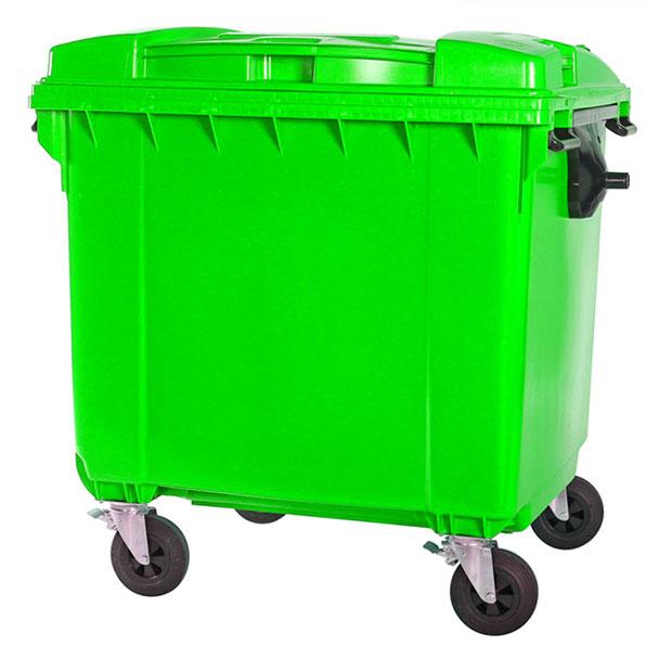 مخزن زباله 660 لیتری مکانیزه