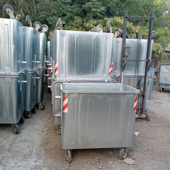 مخزن زباله 660 لیتری مکعب
