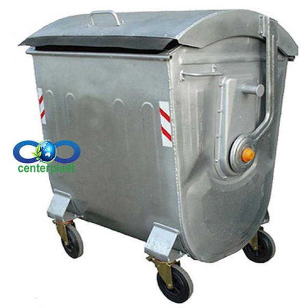سطل زباله 1100 لیتری بارانی