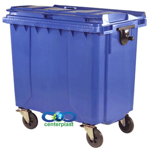 مخزن زباله 770 لیتری مکانیزه