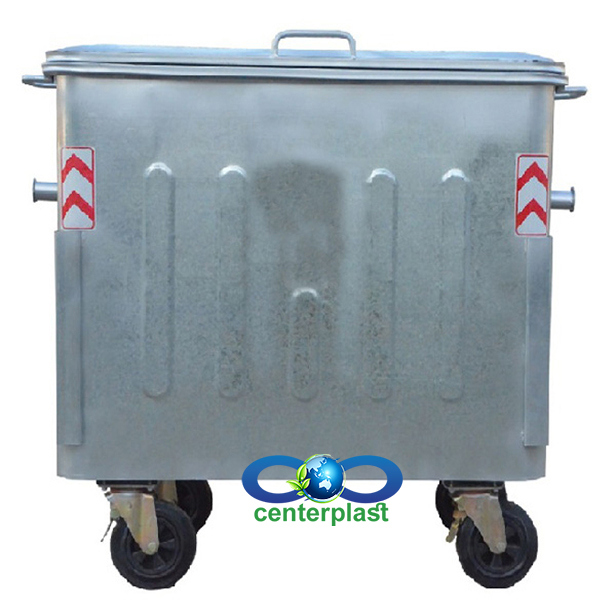 مخزن زباله 770 لیتری پرسی