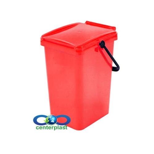 مخزن زباله 10 لیتری پلی اتیلن