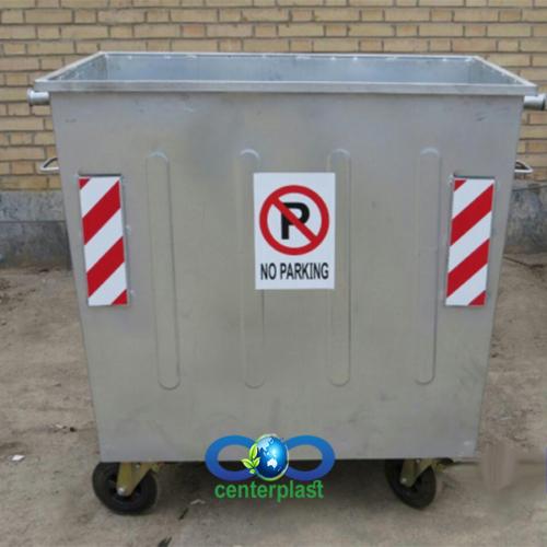 سطل زباله گالوانیزه
