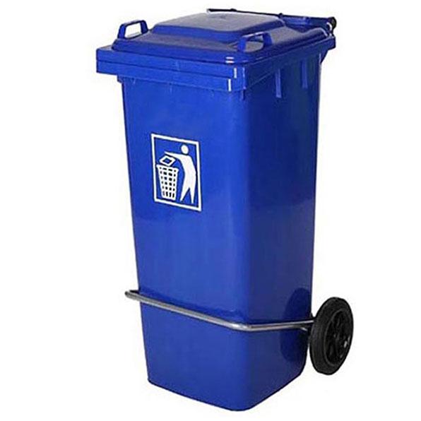 سطل زباله صنعتی 100 لیتری پدالدار